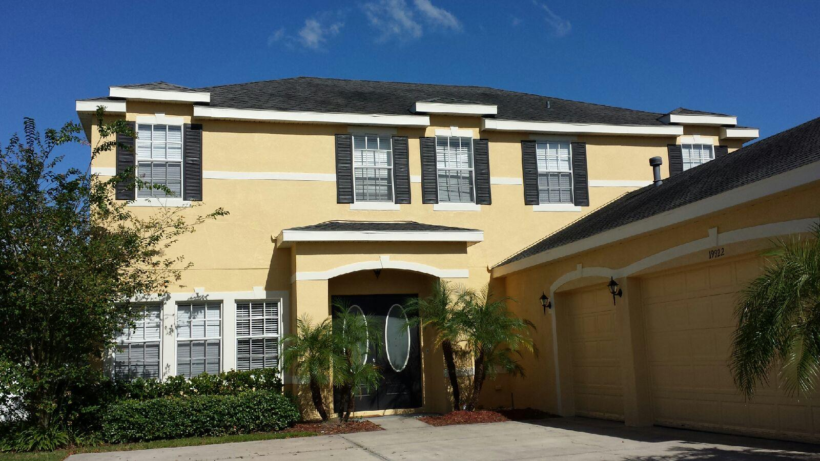 Beautiful exterior painting job in tampa florida tampa painting contractor carpet cleaning - Exterior home painters ...